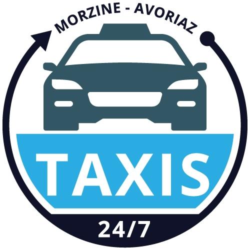 logo taxis morzine
